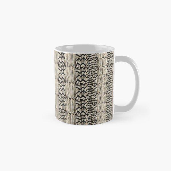 Taupe grass thatchwork Classic Mug