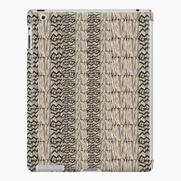 Taupe grass thatchwork iPad Snap Case