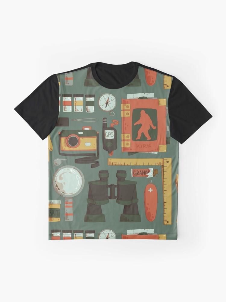 Alternative Ansicht von Cryptid Jagd Grafik T-Shirt