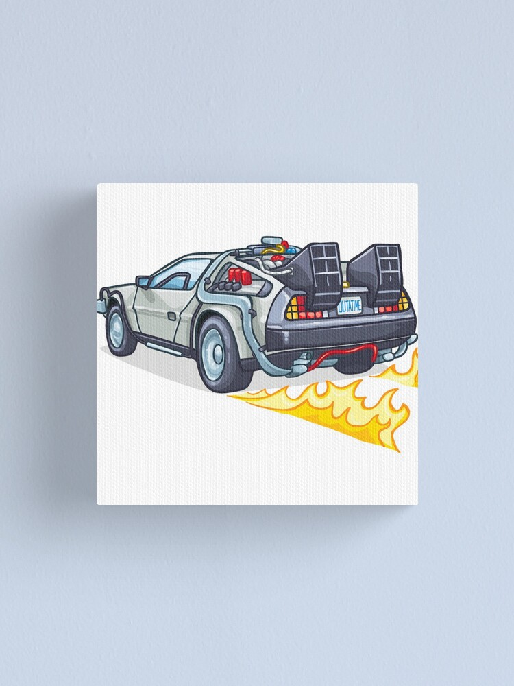 Alternate view of D.M.C OUTATIME Canvas Print