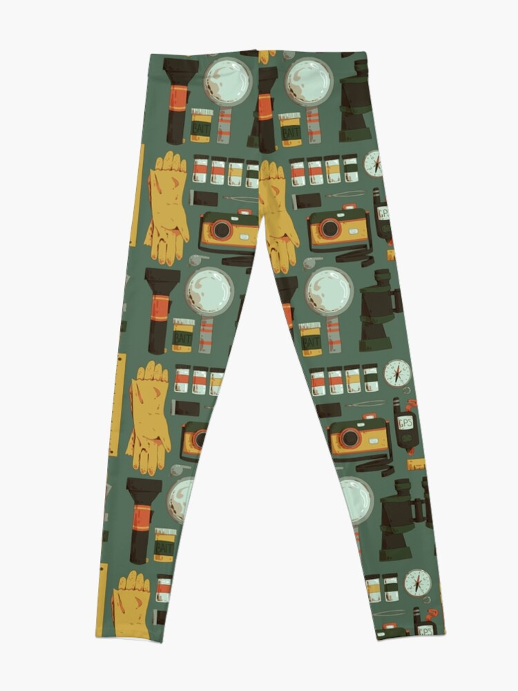 Alternative Ansicht von Cryptid Jagd Leggings