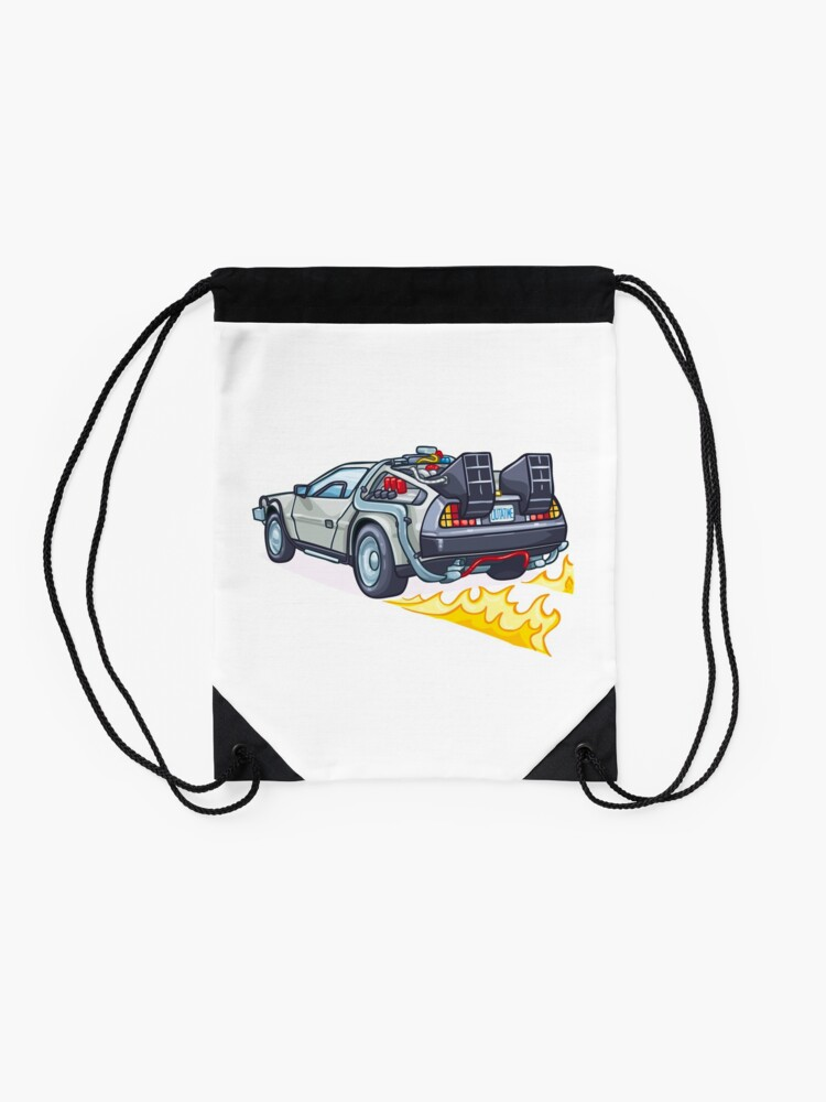 Alternate view of D.M.C OUTATIME Drawstring Bag