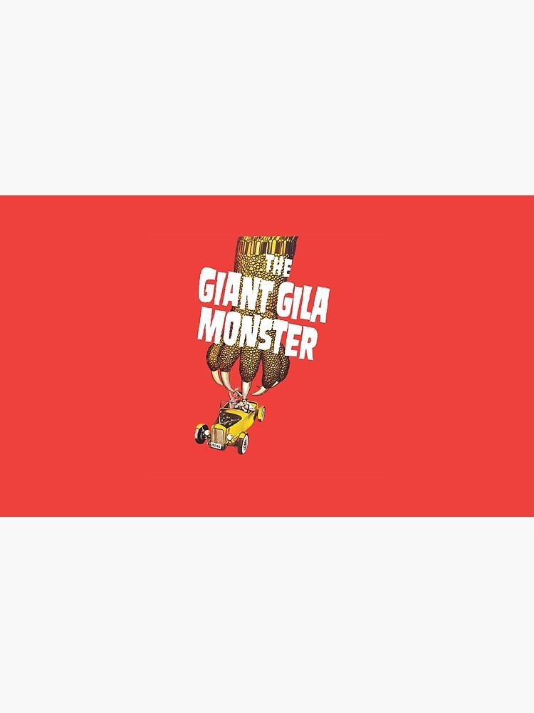 Dieser Monster ist ein riesiger Gila von honeyblack