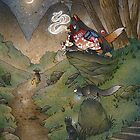 Okina's Illusion (Remake) by TeaKitsune