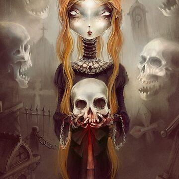 Black Widow - © Art by Élian Black'Mor by arsenicetboule2