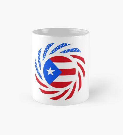 Puerto Rican American Multinational Patriot Flag Series Mug