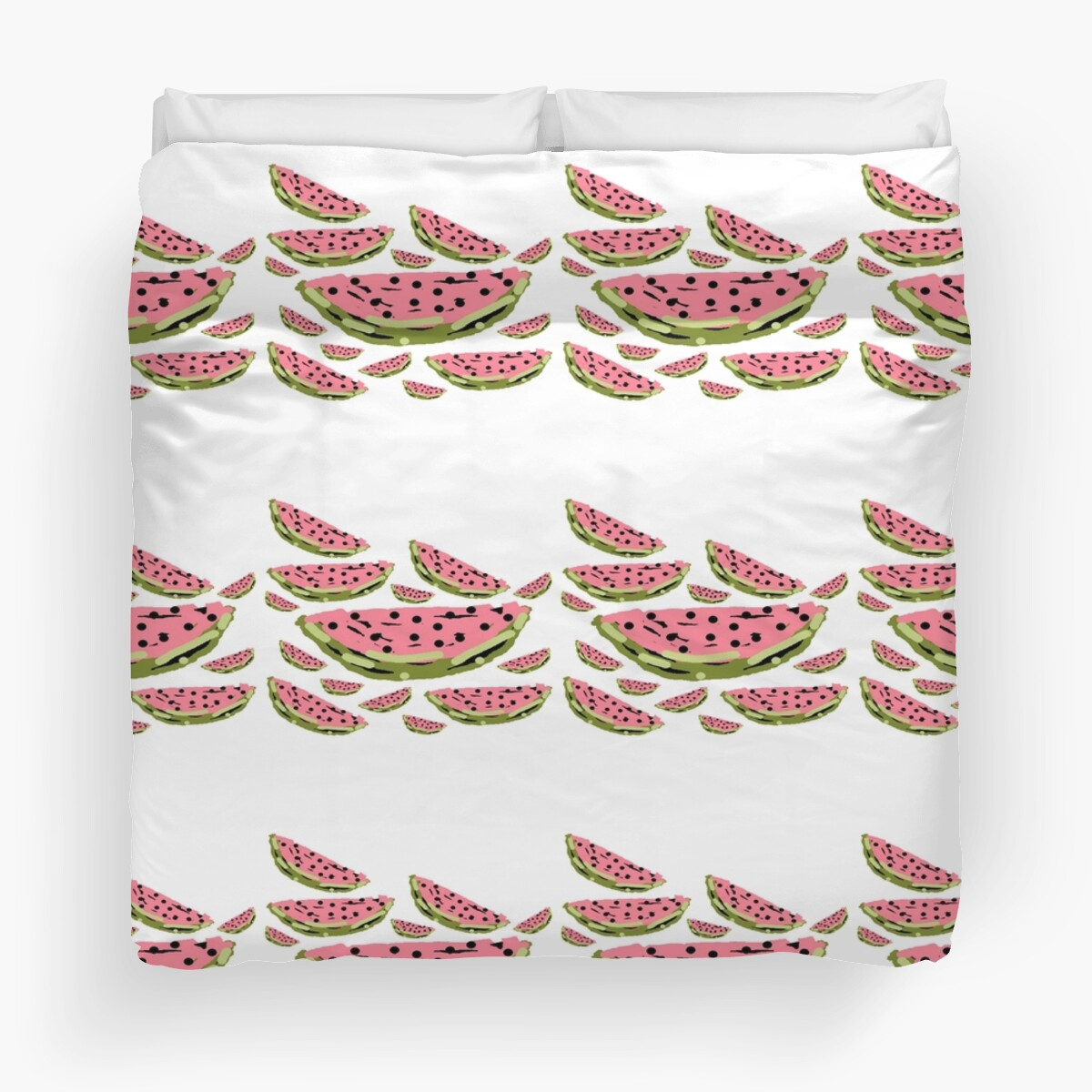 Watermelon Summer pattern by HEVIFineart
