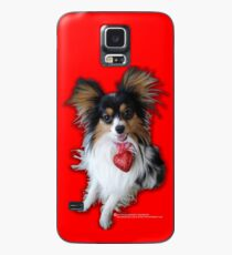 Bart the Papillon Case/Skin for Samsung Galaxy