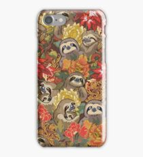 Because Sloths Autumn iPhone 7 Case