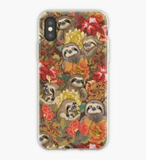 Because Sloths Autumn iPhone Case