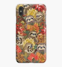 Because Sloths Autumn iPhone XS Max Case