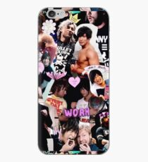 Golden Lovers Collage iPhone Case