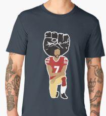 Colin Kaepernick Kneeling - I'm With Kap Men's Premium T-Shirt