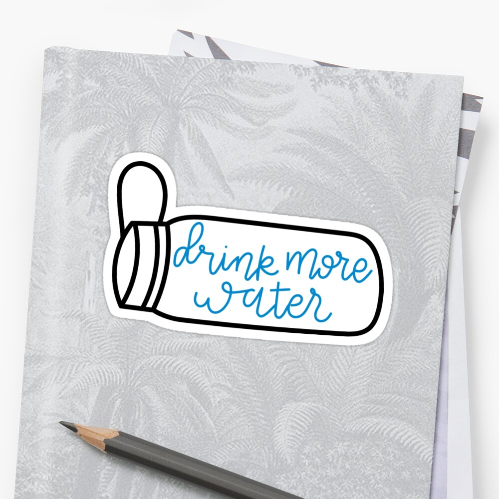 drink more water 3 by cgidesign