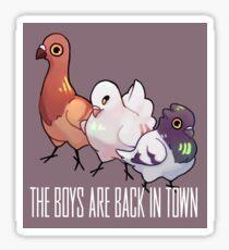 Pegatina Los chicos están de vuelta