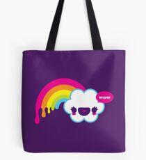 Wow Rainbow Tote bag