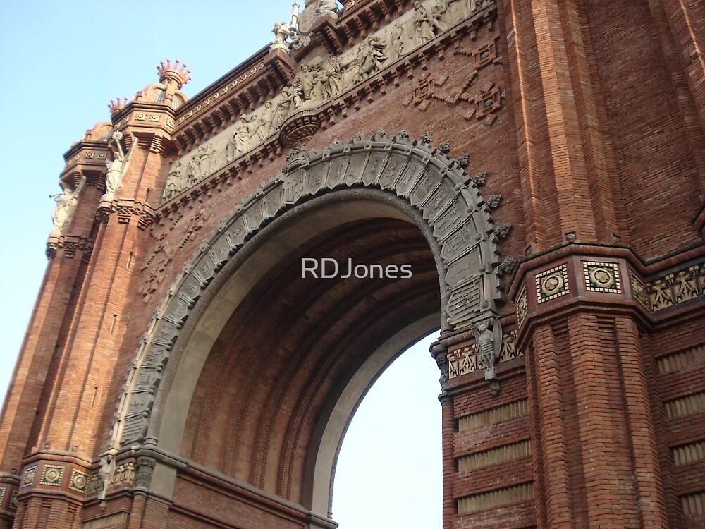 Arch de Triumph Barcelona by RDJones