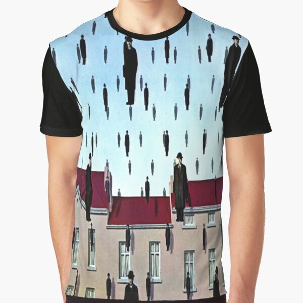 Golconda by  René Magritte Graphic T-Shirt
