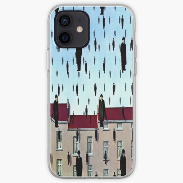 Golconda by  René Magritte iPhone Soft Case