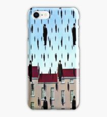 Golconda by  René Magritte iPhone Case/Skin