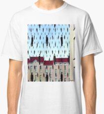 Golconda by  René Magritte Classic T-Shirt