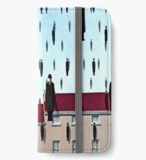 Golconda by  René Magritte iPhone Wallet/Case/Skin