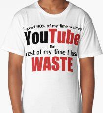 Watching YouTube Long T-Shirt