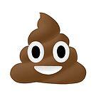 «Poop Emoji Illustration» de bloemsgallery