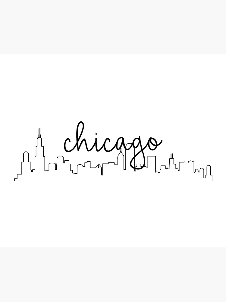 Chicago Skyline de astersam