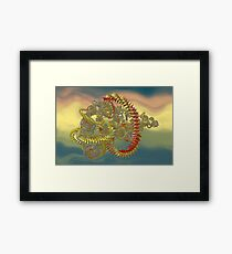Wrap And Roll 1 Framed Print