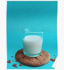 Cookie as a Coaster Poster