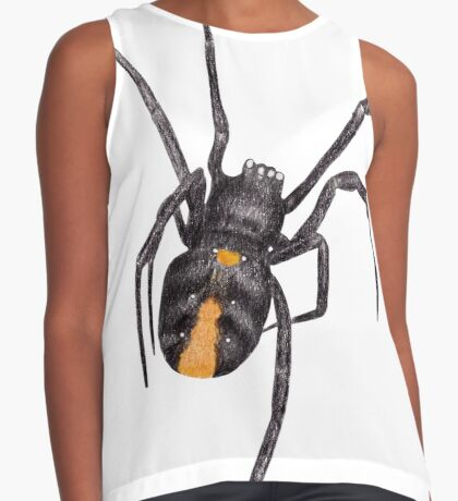 Red Back Spider Sleeveless Top