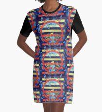 Hexagram 13: T'ung Jên (Fellowship) Graphic T-Shirt Dress