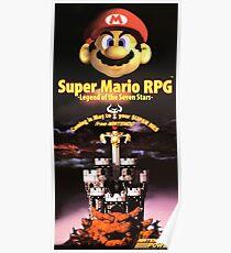 Super Mario RPG - Restored Nintendo Power Poster Poster