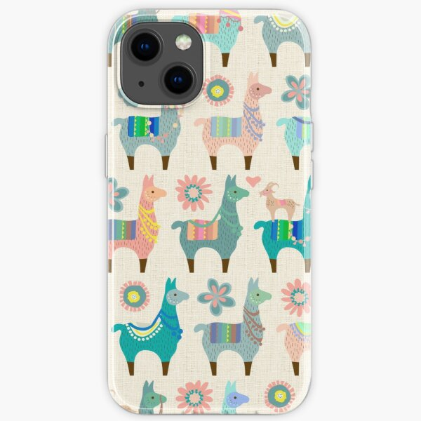 Llama Fun  iPhone Soft Case