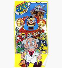 Mega Man 2 Nintendo Power Restored Poster  Poster