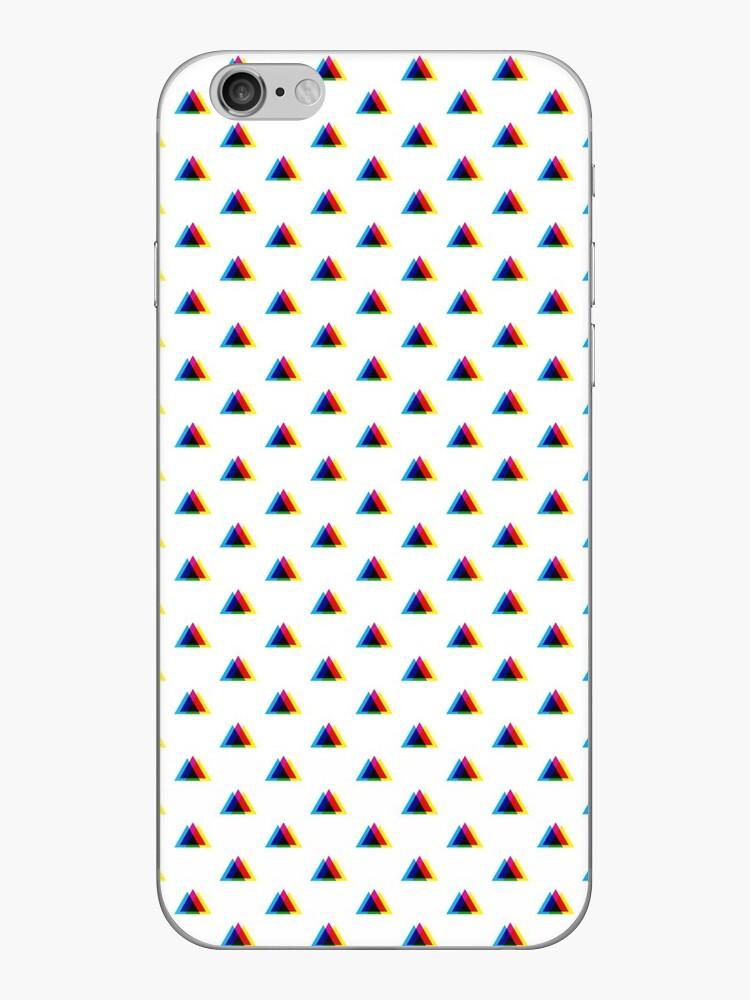 CMYK-Dreiecke (weiß) von animinimal