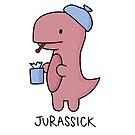 «Ilustración 'Jurassick'» de bloemsgallery