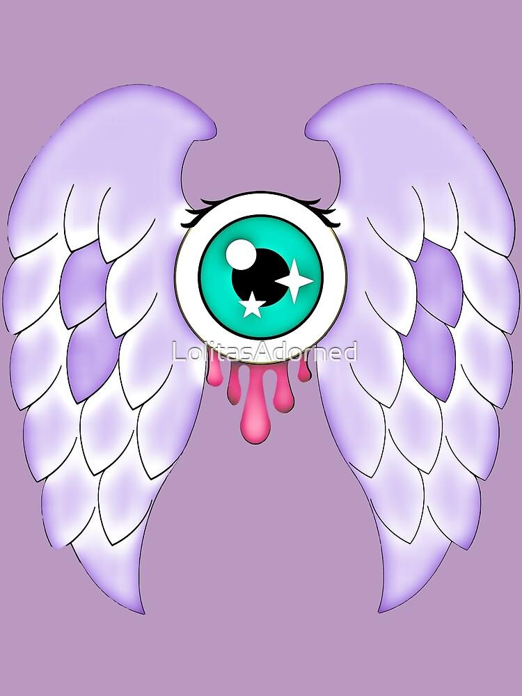 Pastel Goth | Winged Eye | Purple by LolitasAdorned