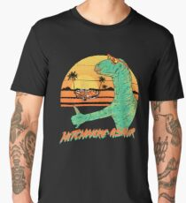 Hitchhike-Asaur Men's Premium T-Shirt