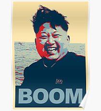 Rocket Man Boom Poster