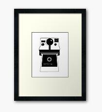 Polaroid - Buffering Framed Print