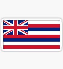 Hawaii State Flag Stickers Sticker