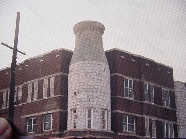 Milk Bottle Building 1986 - Richmond, VA by batjuby
