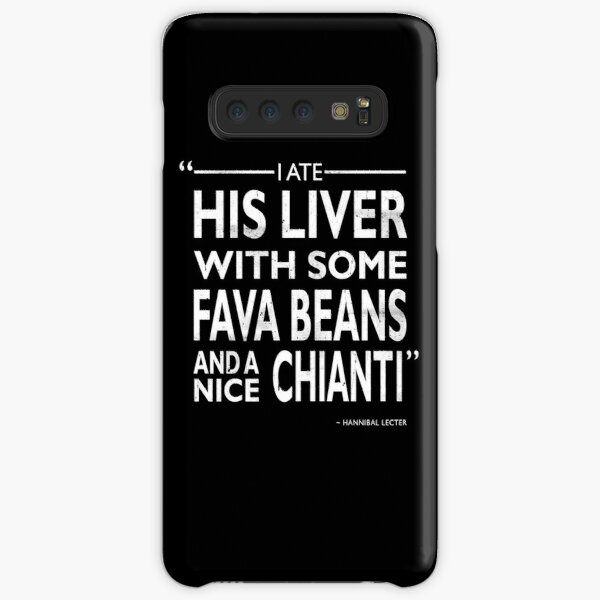 I Ate His Liver Samsung Galaxy Snap Case