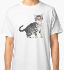 Tony Stark Kitten V-Neck Classic T-Shirt