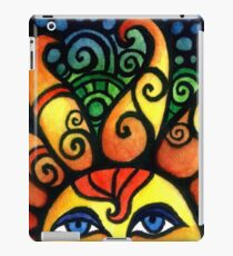 Colorful Rising Summer Sun iPad Case/Skin
