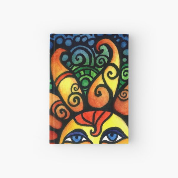 Colorful Rising Summer Sun Hardcover Journal