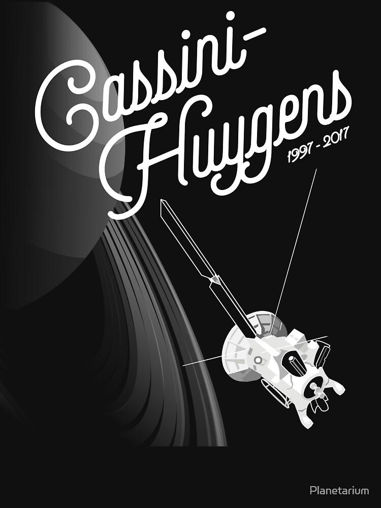 Cassini-Huygens, 1997 - 2017 by Planetarium