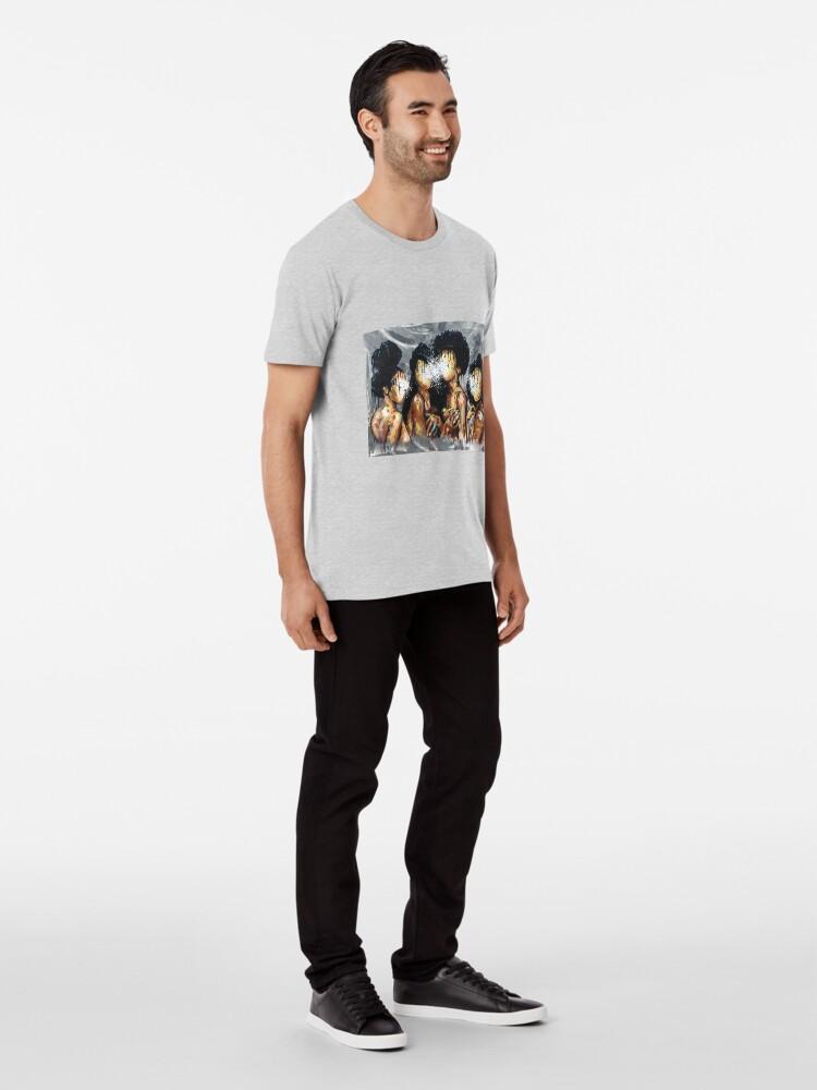 Vista alternativa de Camiseta premium Naturalmente LIV